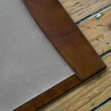 White Leather Desk Blotter Leather Desk Blotter Roselawnlutheran