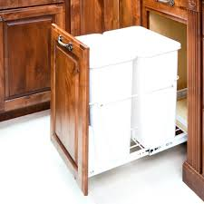 cabinet custom size trash cans gallon trash can dimension diy gallon trash can dimension diy pull out cans kitchen custom size full image for double frame white with