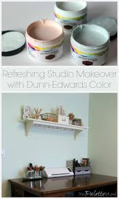dunn edwards color to the rescue in my studio the palette muse
