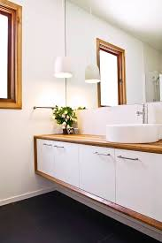 Modern White Bathroom Vanity Wood Vanity Top In Bathroom Contemporary With Ceramic Pendant