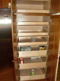 pull out tall kitchen cabinets tall pull out kitchen cabinet shelves home design