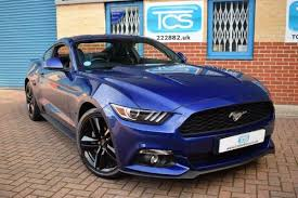 ford mustang for sale uk ford mustang 2 3 ecoboost fastback 6 speed for sale 2016 on car