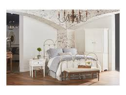 French Inspired Bedroom by Magnolia Home By Joanna Gaines French Inspired Queen Rosette Iron