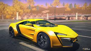 lykan hypersport doors w motors for gta san andreas