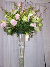 Vases With Fake Flowers Wondrous Tall Flower Vase 10 Tall Vase Silk Flower Arrangements