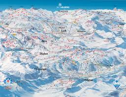 Colorado Ski Areas Map by