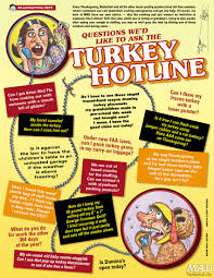 a mad thanksgiving classic questions we d like to ask the turkey