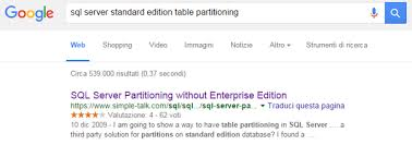 table partitioning in sql server can we use table partition in sql server standard edition quora