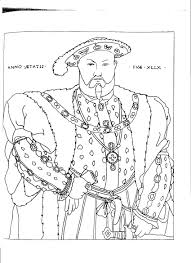 printable coloring pages renaissance henry viii coloring pages 4687