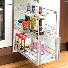 pull out baskets for bathroom cabinets pull out cabinet basket pull out wire baskets for kitchen cabinets