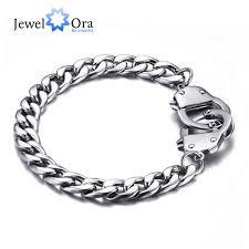 wrist bracelet men images Buy 205mm stainless steel handcuff bracelet men jpg