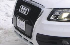 audi q7 front license plate bracket has anyone installed a front license plate holder on their q5