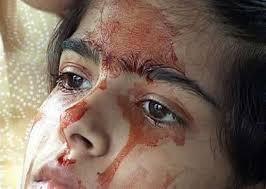imágenes religiosas que lloran sangre una niña que llora sangre noticias insolitas curiosas graciosas