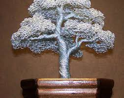 wire tree sculpture etsy
