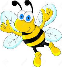 funny bee cartoon character royalty free cliparts vectors and