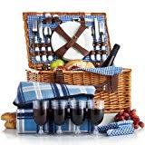 best picnic basket best sellers best picnic basket sets