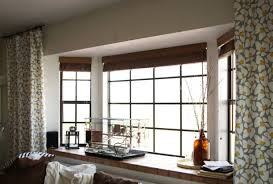 Bay Window Treatments For Bedroom - curtain style curved window curtain rod with interior design bay