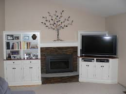 White Electric Fireplace With Bookcase Apartments Terrific Family Room Design With Electric Fireplace