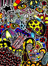trippy sketches trippy 4 by defictionalization traditional art