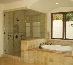 fancy glass shower door bath decors