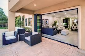Pvc Folding Patio Doors by New Bi Fold Door Inspires Upgrades For Outdoor Living Builder