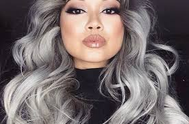 hairstyles for young women with gray hair granny hair trend young women are dyeing their hair gray