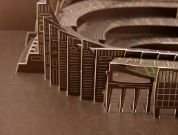 Ingrid Siliakus Paperarchitecture Projects U2014 Point To Paper