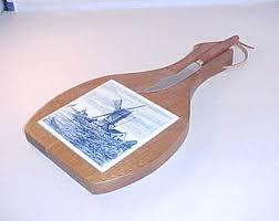 ceramic cutting boards tile cutting board etsy