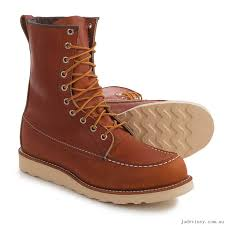 red wing heritage 877 classic moc toe boots for men save 34