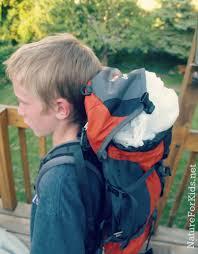 headless costume diy headless costume using backpack nature for kids