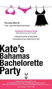 simple bachelorette party invitation card ideas catchy white