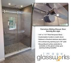 Shower Door Water Guard Frameless Shower Doors Image Glassworks Danvers Peabody Boxford