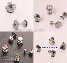 ear pin 2017 new arrived 8 designs unique ear pin earring clip stud