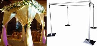 wedding backdrop lighting kit pipe and drape wedding backdrop curtain for outdoor decor buy