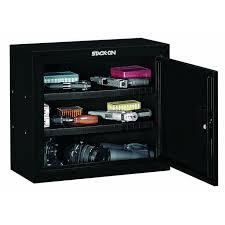 Stack On In Wall Gun Cabinet Stack On Steel 2 Shelf Pistol Ammo Cabinet Gun Safe Free