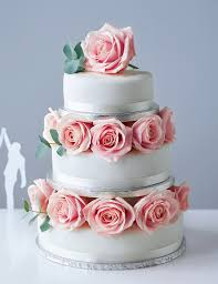 traditional wedding cake small tier m u0026s