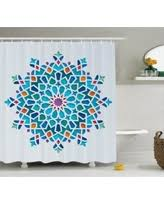 Oriental Shower Curtains Amazing Deal On Antique Decor Shower Curtain Set Victorian Style