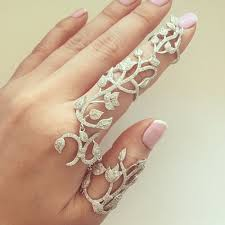 fingers rings images images Adorn your fingers with stylish and designer double finger rings png