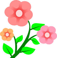 clipart 3 flowers
