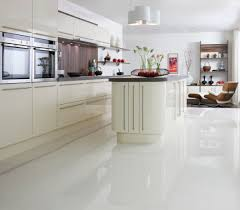 White Kitchen Ideas Uk by High Gloss Kitchen Floor Tiles Picgit Com