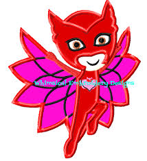 owlette pj masks www whimsicalembroiderydesigns