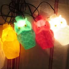 Owl Patio Lights Retro String Lights Owl Patio Lanterns Pool Lights Vintage 7