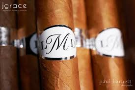 custom wedding favors wedding favors with monogram cigars