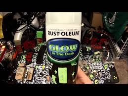 glow in paint rust oleum glow in the paint review
