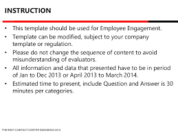 template corporate 2015 employee engagement