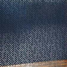 tapet cafe tile geometric metallic wallpaper by erica wakerly