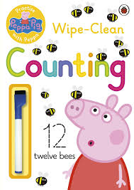 peppa pig practise with peppa wipe clean writing amazon co uk