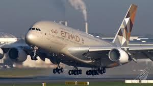 Etihad A380 The Residence Etihad Airways A380 Lands At Mumbai Airport Zee Business