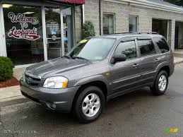 mazda tribute 2003 dark titanium gray metallic mazda tribute lx v6 4wd 18507577