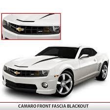 blacked out 2014 camaro camaro front fascia 5th blackout alphavinyl